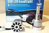 Автолампы UKC H3 33W 3000LM 4500-5000K  LED лампы светодиодные с цоколем h3 ЛЕД для авто машины , фото 5