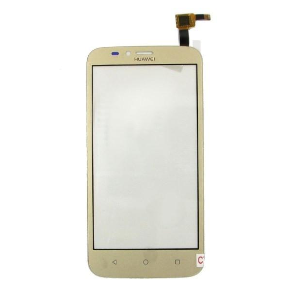 Тачскрин для Huawei Y625-U32 Ascend, золотистый Оригинал