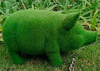 "Декоративная фигурка для сада ""Green Pig"""