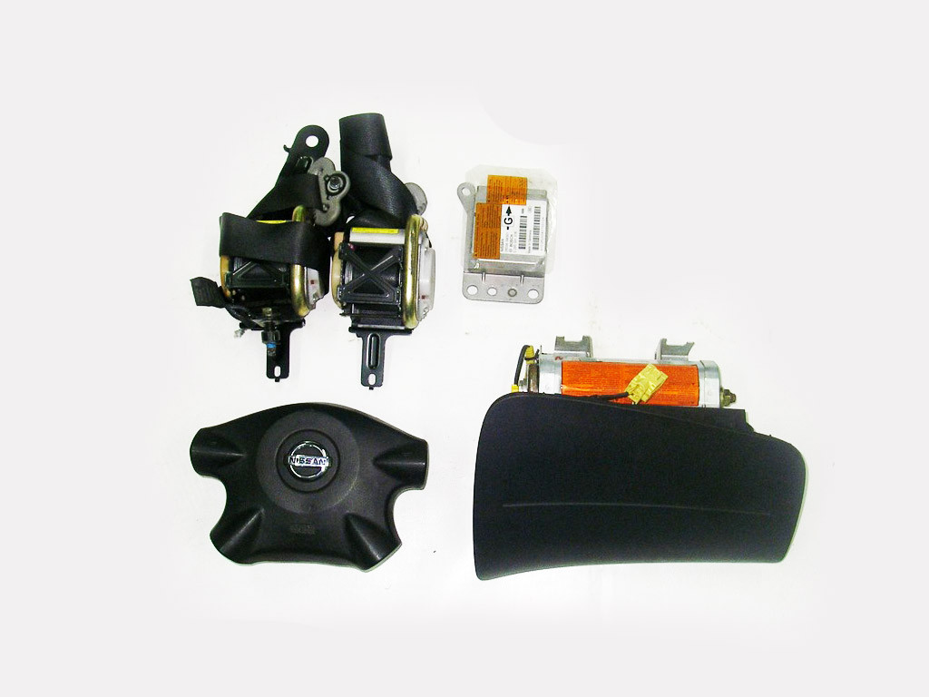 Подушки безопасности комплект 04-07 Nissan Almera (N16) 00-07 (Ниссан Алмера Н16)