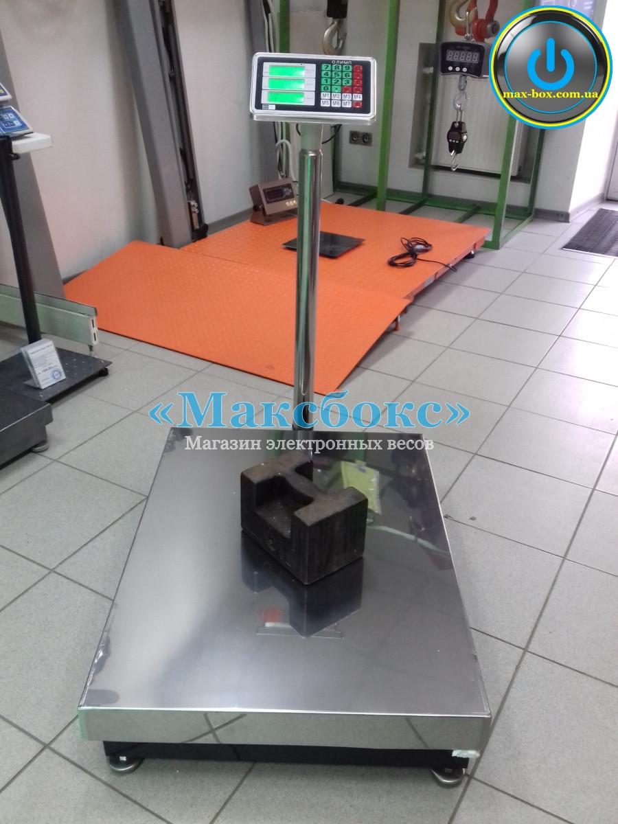 Весы складские напольные Олимп 102-Д-600 кг (600х800)