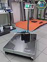 Весы складские напольные Олимп 102-Д-600 кг (600х800), фото 2