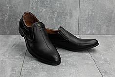 Мужские кожаные туфли Slat 1802 коричневые топ реплика