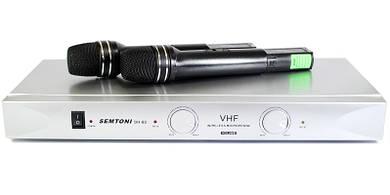 Микрофоны без проводные 2шт. DM SH-80 VM