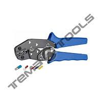Инструмент для опрессовки SN-0725 (0.5-2.5 мм²) наконечников и гильз с изоляцией