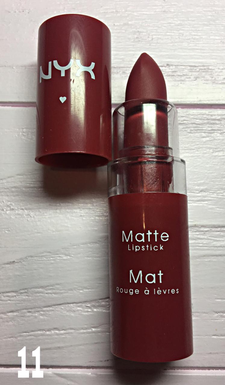 Помада губная Nyx Matte №11