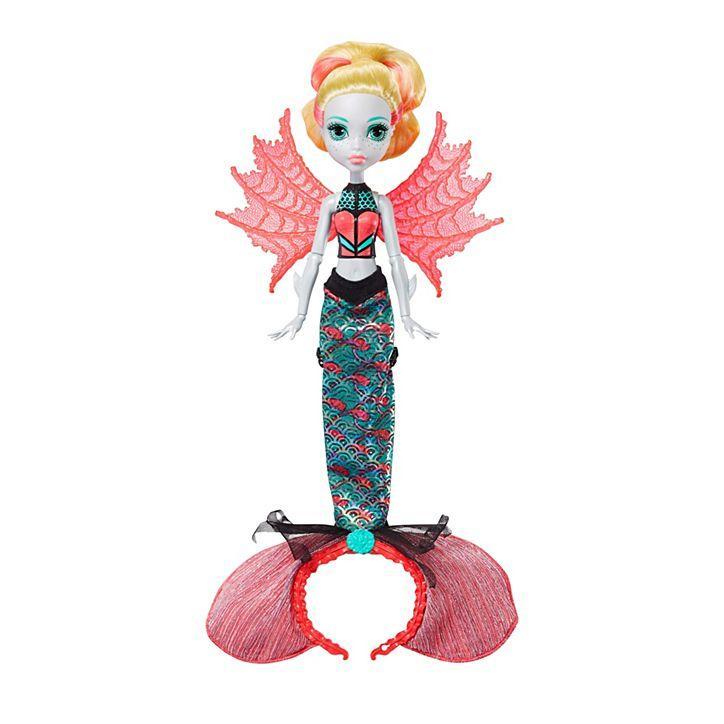 Кукла Лагуна Блю Монстро-трансформация / Monster High Ghoul To Mermaid Lagoona Blue Transformation