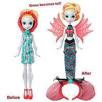 Кукла Лагуна Блю Монстро-трансформация / Monster High Ghoul To Mermaid Lagoona Blue Transformation, фото 9