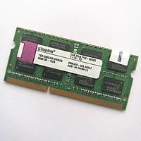 Оперативная память для ноутбука Kingston SODIMM DDR3 2Gb 1066MHz 8500S CL7 (TSB1066D3S7DR8/2G) Б/У, фото 1