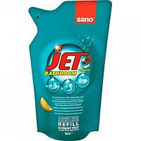 Средство для мытья акриловых ванн Sano Jet Bathroom сменная упаковка, 500 мл