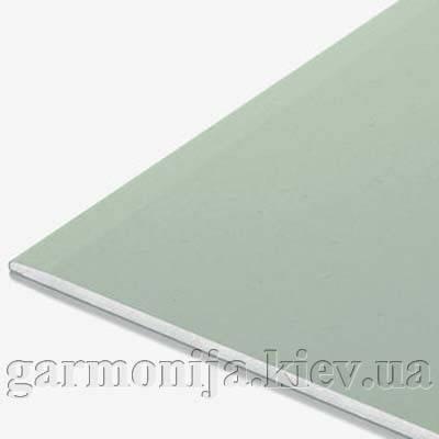 Гипсокартон Knauf влагостойкий-потолочный 2000x1200x9.5 мм, фото 2