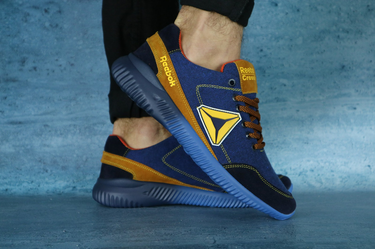 Кроссовки CrossSAV 20 (Nike) (лето, мужские, джинс)