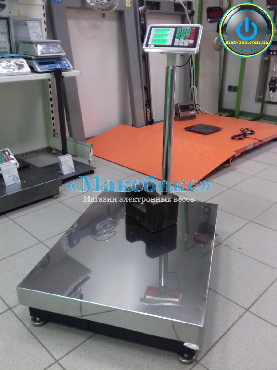 Весы платформенные до 600 кг – Олимп Д (Стойка съёмная)