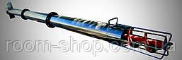 Шнековый транспортер (конвейер, погрузчик) диаметром 219 мм, длиной 3 метра, фото 2