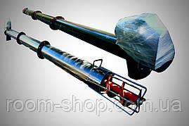 Шнековый транспортер (конвейер, погрузчик) диаметром 219 мм, длиной 3 метра, фото 3