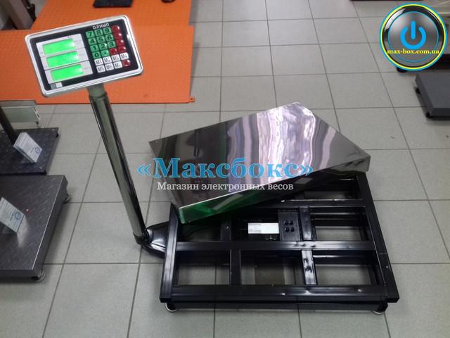 Весы товарные до 600 кг – Олимп Д600.