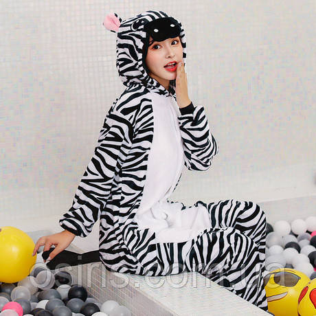 Пижама Кигуруми взрослое Зебра М (на рост 155-165) - Интернет-магазин 55c49fcdcd73e