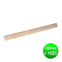 Линейка деревянная 30 см. Шелкография ЛДШ30