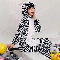 Пижама Кигуруми взрослое Зебра L (на рост 165-175) f368a6f52819b