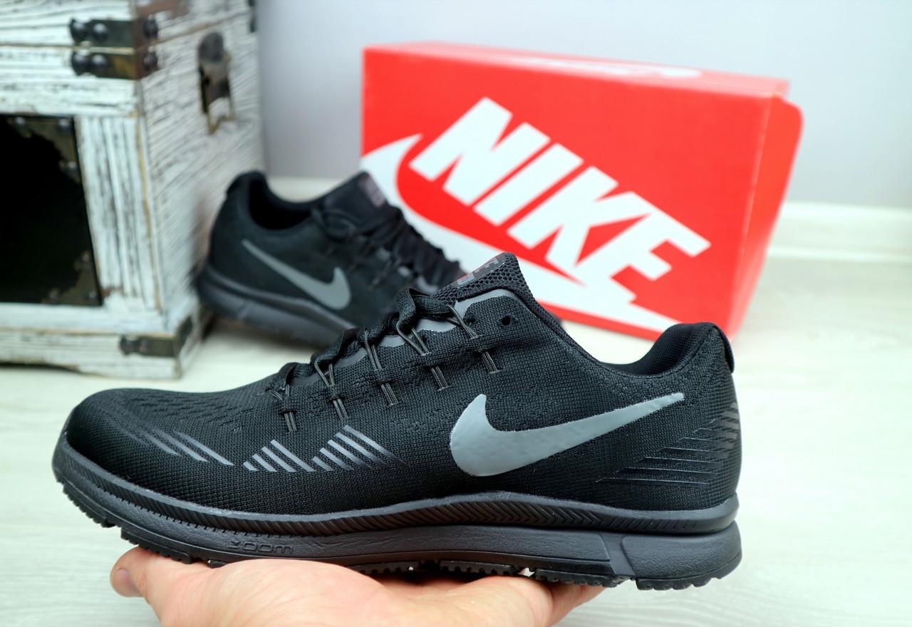 Кроссовки Classik G5033-5 (Nike Zoom) (весна-осень, мужские, текстиль, черный)