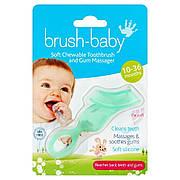 Gum Massager гризунець діткам від 0-18 місяців Brush-Baby