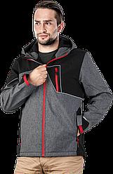 Куртка з флісом, від дождью та вітру, матеріал Softshell, LEBER&HOLLMAN