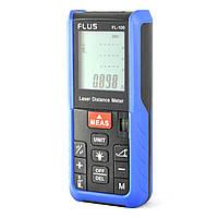 FLUS FL-100 Лазерний далекомір/рулетка (100 метрів), фото 1