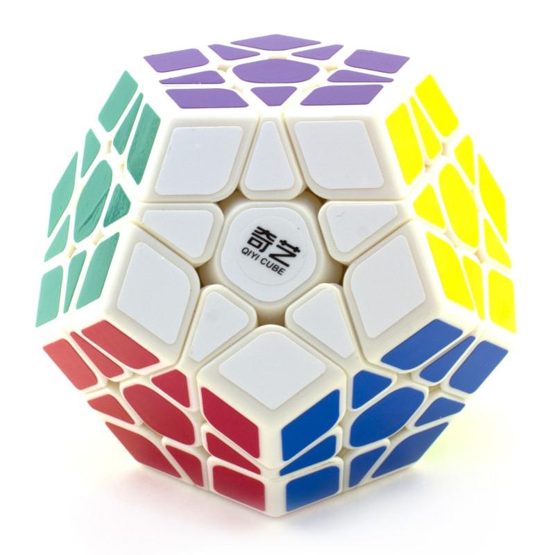 Логічна гра мегамінкс MoFangGe Qiheng Megaminx Білий