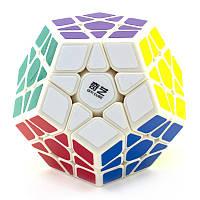 Логічна гра мегамінкс MoFangGe Qiheng Megaminx Білий, фото 1