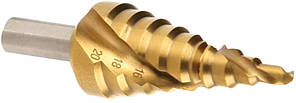 Сверло ступенчатое 4 х39 13ст. хв.10 мм ( 4,6,9,12,15,18,21,24,27,30,33,36,39 ) Китай