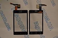 Оригинальный тачскрин / сенсор (сенсорное стекло) для Sony Xperia Go ST27i (черный цвет) + СКОТЧ В ПОДАРОК