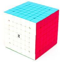 Кубик 7х7 QIYI Qixing, колір, стікери, в коробці, фото 1