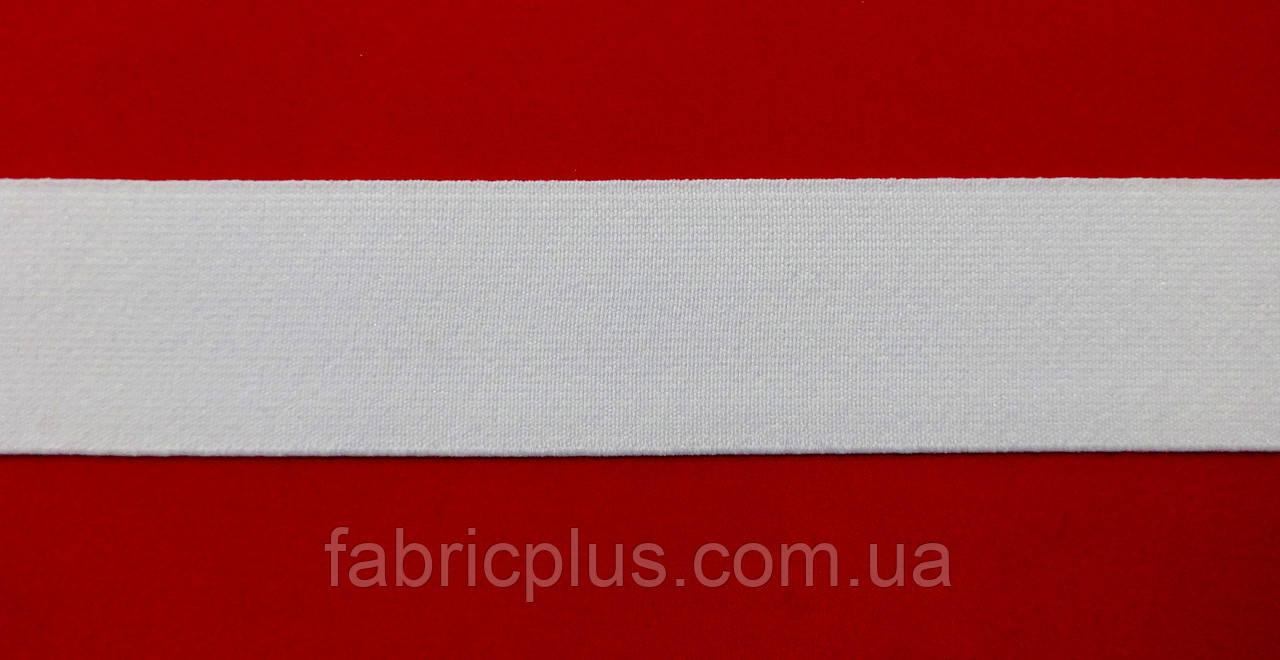 Резинка  3.5 см  белая  Белорусская