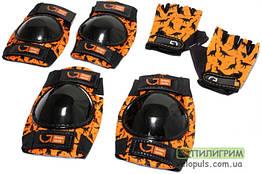 Защита детская - Green Cycle Dino Orange