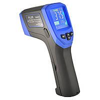 Пірометр-реєстратор 50:1 із термопарою K-типу (-50…+2280 °C) та SD-картою FLUS IR-871