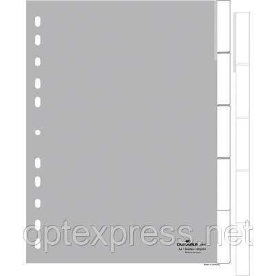 Разделители  пластиковые 1-5 формата A4  DURABLE