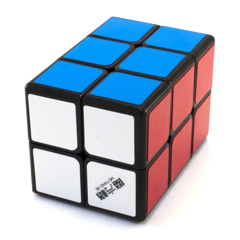 Кубик рубика Кубоид 2х2х3 QiYi Mofangge Чорний пластик, в коробці
