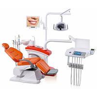 Стоматологическая установка AY-A4800 (3-х секционная), верхняя подача инструментов
