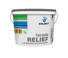 Структурная краска на акрилатной основе Kolorit Facade Relief 4,5л