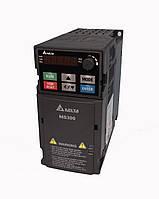 Преобразователь частоты MS300, 230В, 1,5 кВт, 7,5 /8,5А, ЭМС С2 фильтр, векторный, c ПЛК, VFD7A5MS21AFSAA