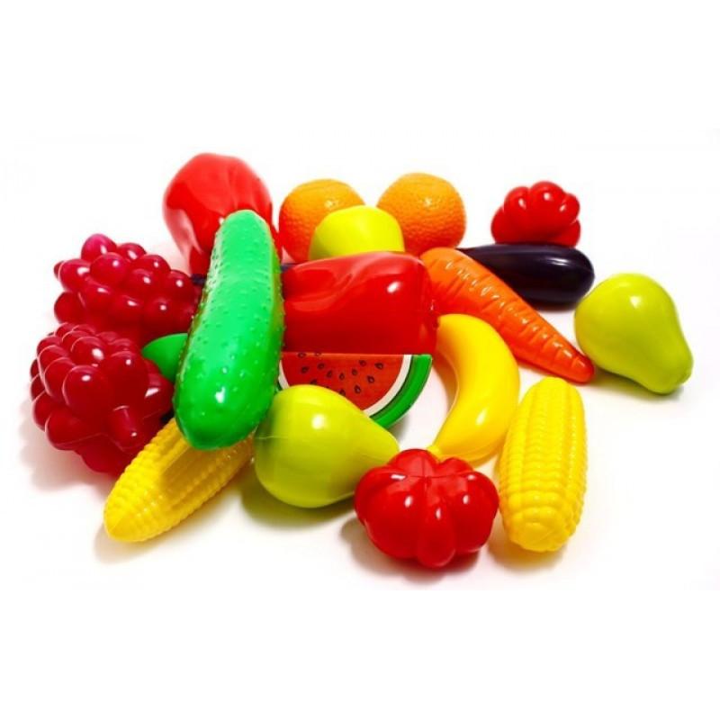 Набор игровой Фрукты-овощи - 20 предметов ОРИОН