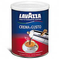 Кофе молотый Lavazza Crema e Gusto ж/б 250 гр.