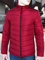 Новые Весенние Мужские Куртки Турецкие Куртка Мужская Стеганная Осенняя  Красная Куртка Весняна Куртка Чоловіча df2e69ee22e60