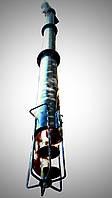 Шнековый погрузчик (винтовой конвейер) диаметром 219 мм, длиной 6 метров