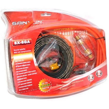 Комплект проводів для сабвуфера SX-8G PR4, фото 2