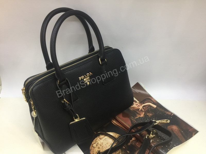 aa5bb4ba6251 Элегантная женская кожаная сумка Prada Lux в зернистой коже 1624, цена 2  100 грн., купить в Харькове — Prom.ua (ID#858732450)