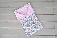 Одеяло-конверт с пуговицами, Волшебные пони, фото 1