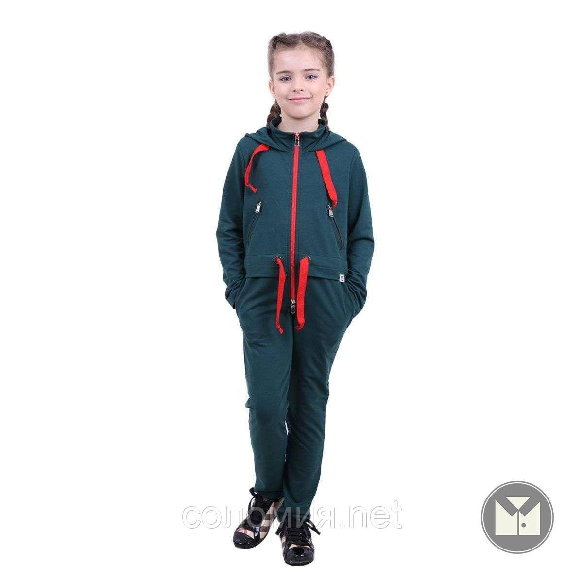 Модный Комбинезон с карманами для девочки 122-152р