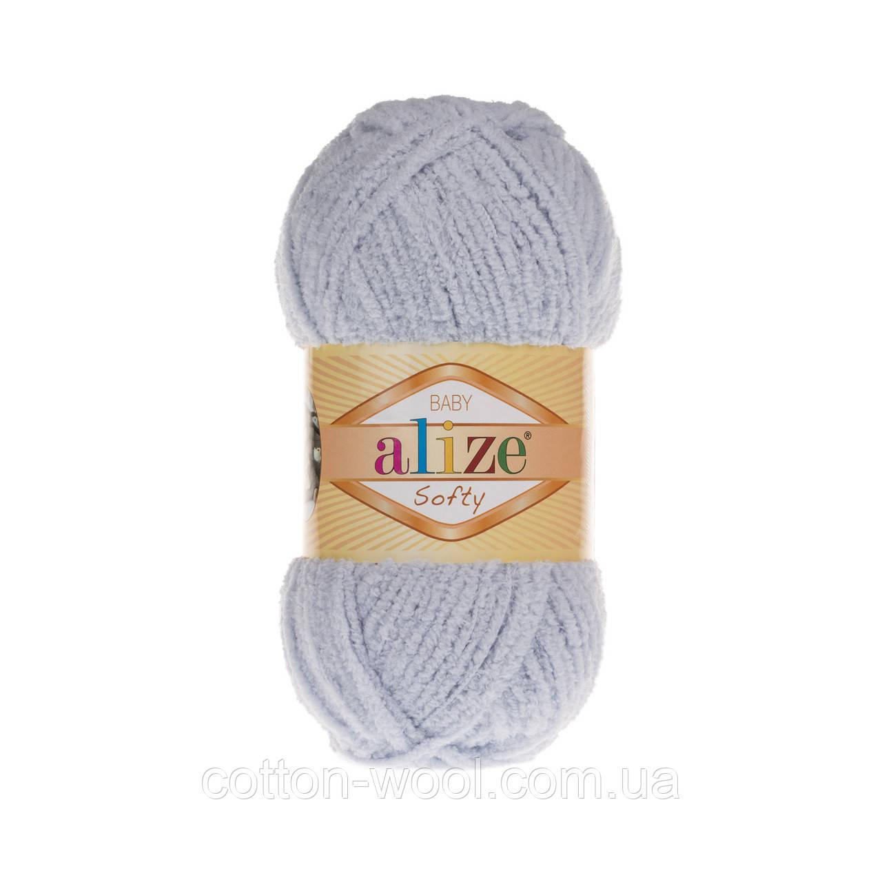 Alize Softy (Ализе Софти) 416 плюшевая пряжа