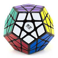 Логічна гра Мегамінкс 3 × 3 QiYi MoFangGe QiHeng Megaminx Чорний, фото 1